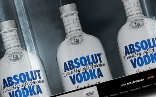Pernod Ricard Deutschland | Absolut Vodka Shop