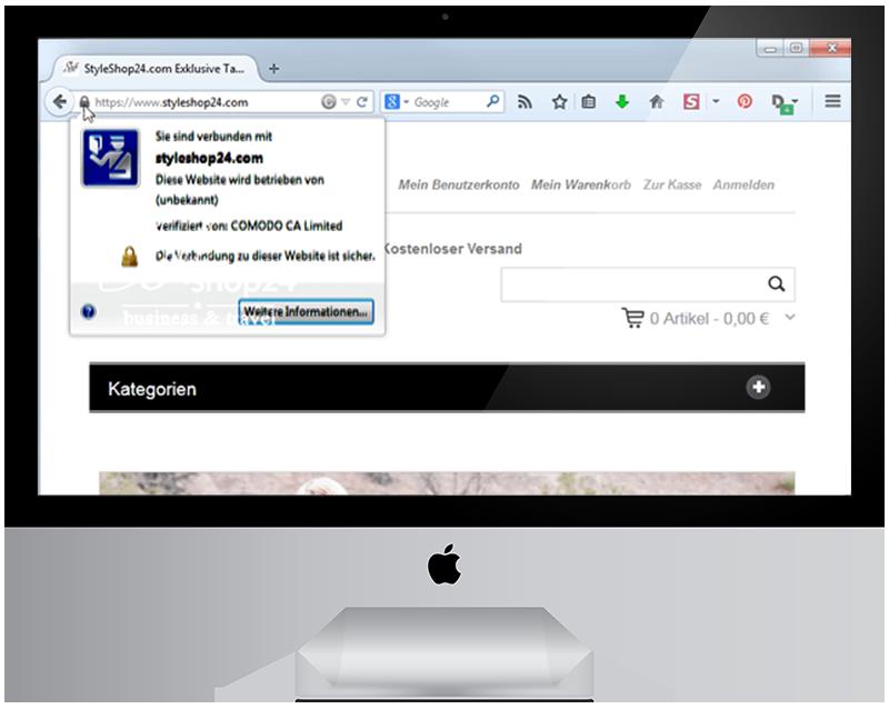 2 Umstellung Ihrer Webseite auf SSL HTTPS - millenium sagt Ihnen was Sie wissen sollten