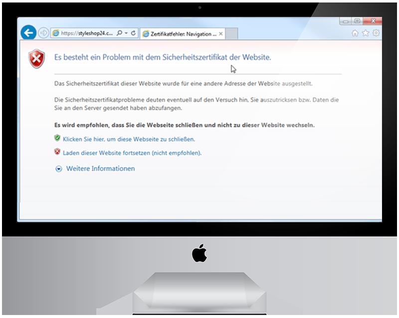 3 Umstellung Ihrer Webseite auf SSL HTTPS - millenium sagt Ihnen was Sie wissen sollten