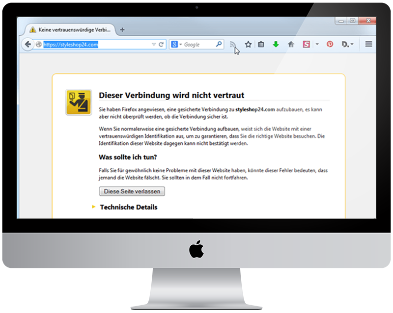 5 Umstellung Ihrer Webseite auf SSL HTTPS - millenium sagt Ihnen was Sie wissen sollten