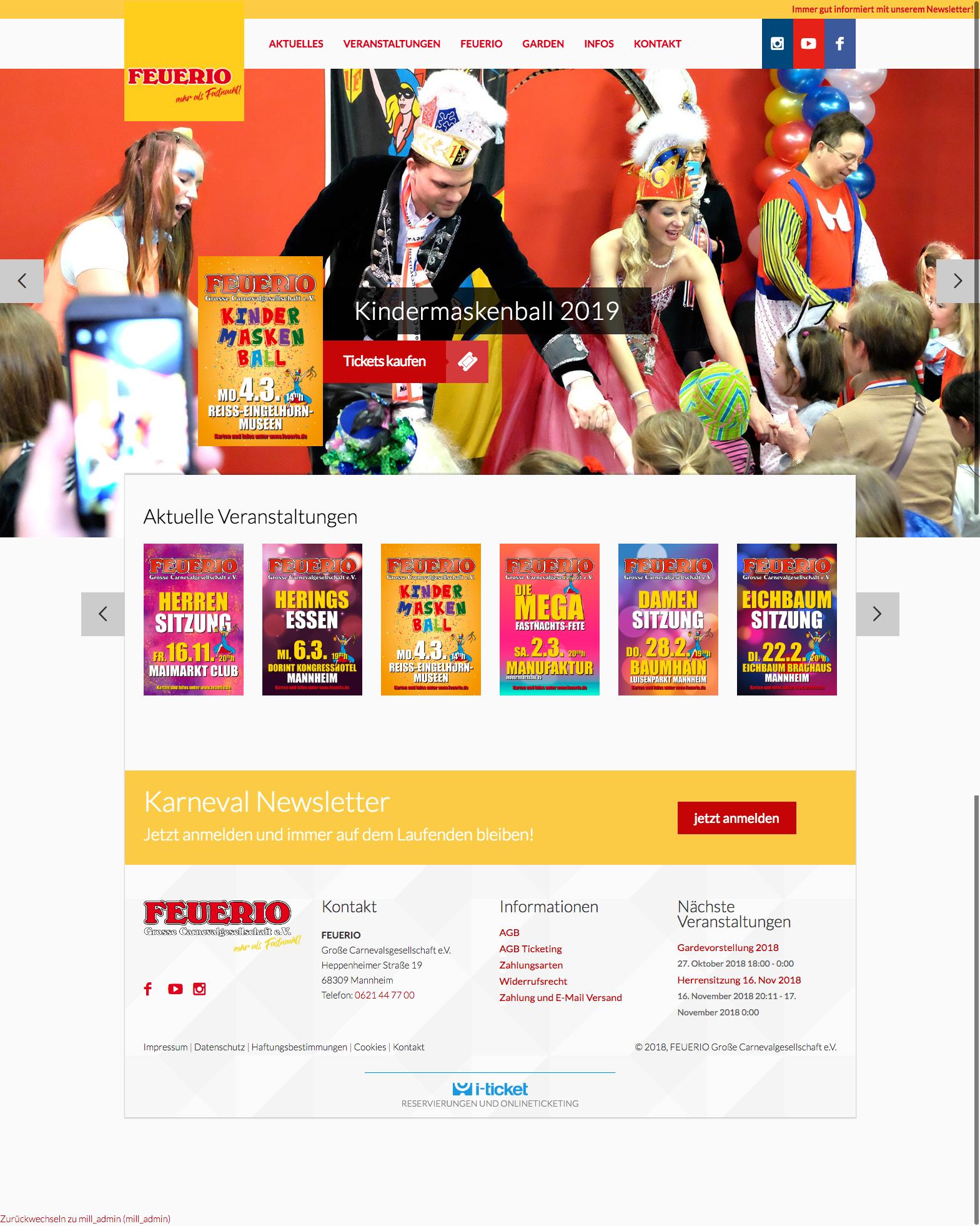 feuerio_1 FEUERIO Relaunch Internetpräsenz und Onlineticketing