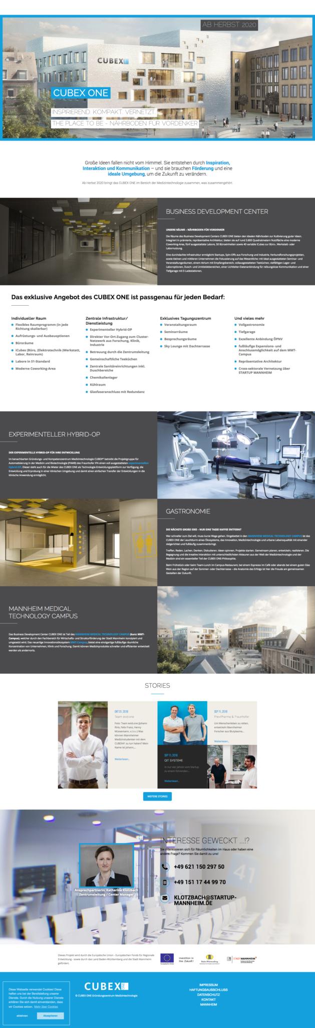screenshot-www.cubex-one.de-2018.12.11-12-37-47 Launch der Präsenz CUBEX ONE